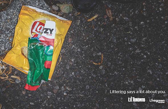 Αφίσα Τορόντο - σκουπίδια