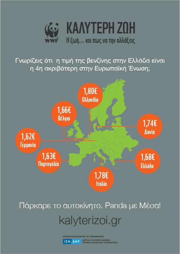 Τιμή βενζίνης στην ΕΕ