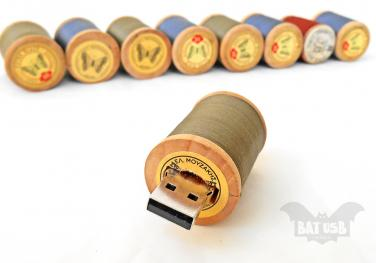 USB stick από ευτελή υλικά (δημιουργία: ΒΑΤ usb - Think4HandmadeArt)